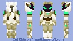 Protogen model A-1 Minecraft Skin