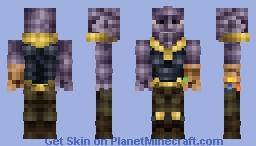 I Am Inevitable Minecraft Skin
