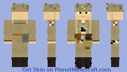 WW2 Japan Special Naval Landing Force Infantry Minecraft Skin