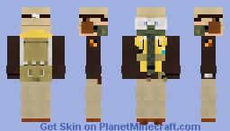 WW2 USAAF Fighter Pilot (8th Air Force) Minecraft Skin