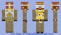 WW2 USAAF Fighter Pilot (Tuskegee Airman 100th Fighter Squadron) Minecraft Skin