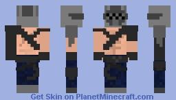 X-Lord [Fortnite] Season 10 / X Minecraft Skin