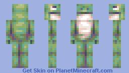 Frogger Minecraft Skin