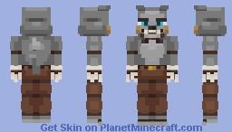 Silver Wolf -Five Nights At Freddy's- (Oc) Minecraft Skin
