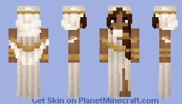 𝓡𝓸𝔃𝒆 || Medieval | Desert Flowing Oracle Minecraft Skin