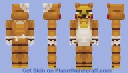 CakeBear Fazbear -Five Nights At Freddy's- (Oc) Minecraft Skin