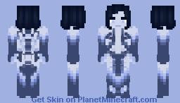 Halo Cortana // #300th skin Minecraft Skin