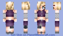 Ino Yamanaka Minecraft Skin