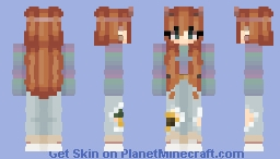 I just wanted you to watch me dissolve. Slowly Minecraft Skin
