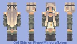 torn Minecraft Skin