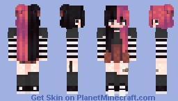 i have no words for this | alternate versions in desc Minecraft Skin