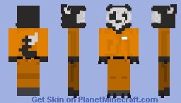 SCP-1471 Minecraft Skin