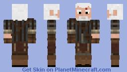 Geralt of Rivia (Hybrid) Minecraft Skin