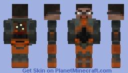 Gordon Freeman [HL2 Beta version] Minecraft Skin