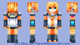 Kagamine Len Minecraft Skin