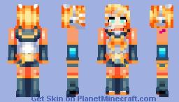 Kagamine Rin Minecraft Skin