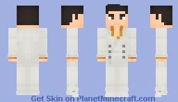 Kazuma Kiryu - Yakuza 0 Minecraft Skin