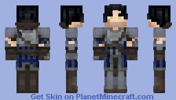 Grey Warden - Dragon Age - Medieval Skin Competition Minecraft Skin