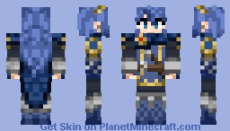 Lucina (Removable Cape) Minecraft Skin
