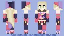 Magilou - Tales of Berseria Minecraft Skin