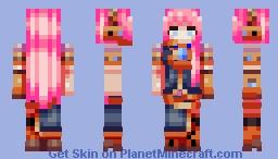 Megurine Luka Minecraft Skin