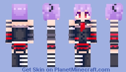 Ako Udagawa plays Minecraft if you even attempt to change my mind idk what to tell you Minecraft Skin