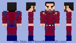 Mon-El CW (The Legion suit) (Without Cape) Minecraft Skin