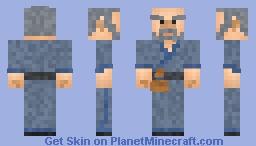 Chinese Elderly Man Minecraft Skin