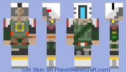 Titanfall 2 Phase Shift Pilot Skin Minecraft Skin