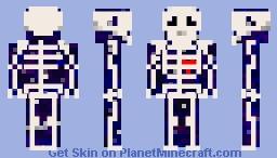 Gravity bones Minecraft Skin