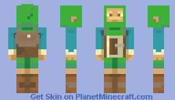 Jiminy Mann Minecraft Skin