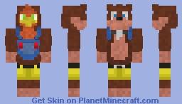 Banjo Kazooie Minecraft Skin