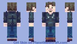 What's Poppin' Minecraft Skin