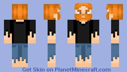 Castaway Man Minecraft Skin