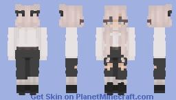 blue Minecraft Skin