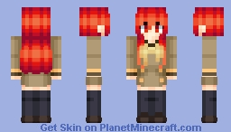 S H A N A - Shakugan No Shana (my create) Minecraft Skin