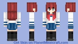 School girl | Anime Minecraft Skin