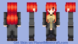 S H A N A - She has a cape Minecraft Skin