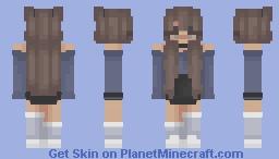 Blue Dreams Minecraft Skin