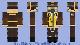 WW2 USAAF Bomber Pilot (8th Air Army) Minecraft Skin