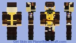 WW2 USAAF Bomber Waist Gunner (8th Air Force) Minecraft Skin