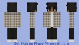 Aesthetic (Boy Skin) Minecraft Skin