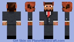 Jschlatt (Edited!) Minecraft Skin