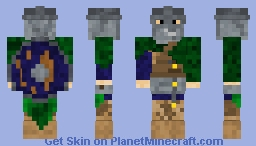 Sammy the Saxon Minecraft Skin
