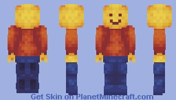 LEGO Man Take Me by the Hand Minecraft Skin