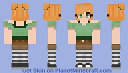 alex two: electric boogaloo Minecraft Skin