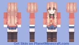 Toradora! Aisaka Taiga Minecraft Skin