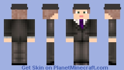 Bestsson 1.14 (Only Suit Edition) Minecraft Skin