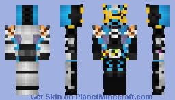 Kamen Rider Bibill Geiz 仮面ライダービビルゲイツ Minecraft Skin