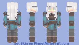 // Nora // Dancing with a ghost // CE Minecraft Skin